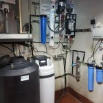 Water Softener and Reverse Osmosis System with UV Light System