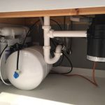 Residential Water Softener LRR and an Under the Counter Reverse Osmosis System in Laverne, OK